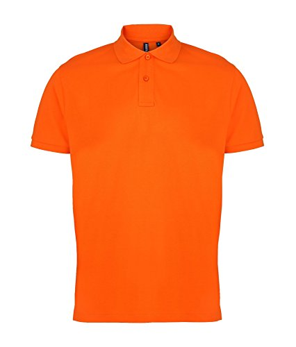 AQ010 Asquith & Fox Men's Polo Orange 2XL