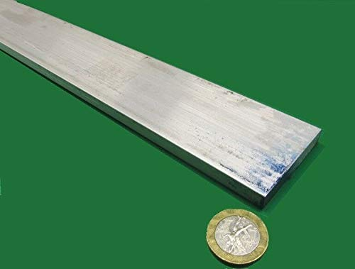 JumpingBolt 6061 T651 Aluminum Bar, 5/16'' (.312'') Thick x 2.0'' Wide x 36'' Length Material May Have Surface Scratches