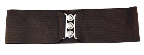 Hip Hop 50s Shop Elastic Cinch Belt, Child, Black
