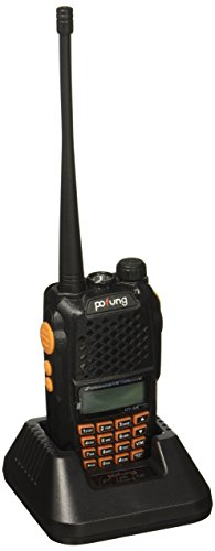 Baofeng Pofung UV-6R Dual-Band Two-Way Radio Transceiver 136-174/400-520MHz High Power 5W/1W, 65-108MHz FM Two-Way Radio