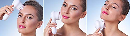 Clarisonic New Mia Smart 4 Piece Set for Cleansing, Smaller Pores, Acne, Fine Lines, Eye Puffiness, Crow's Feet, Sagging Jawline and Foundation Application by Clarisonic (Image #10)