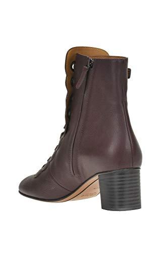 Chloé Zapatos Burdeos Cuero Mcglcas04087i Mujer rUwpfr
