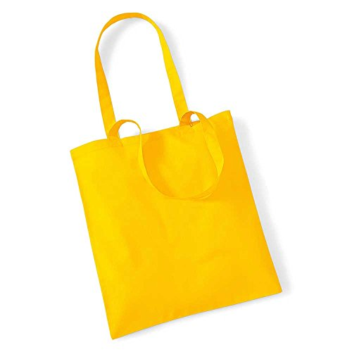 Westford Mill Promo Colours Shopping Bag For Life Sunflower