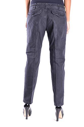 Mcbi14635 Pantalón Algodon Azul Mujer Mauro Grifoni R1waOx