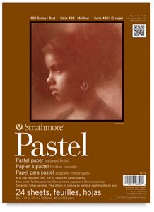 Strathmore 400 Series Pastel Pad, Assorted Colors, 11