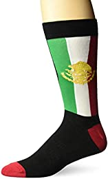 Best Online Men Mexican Flag Crew Socks Sockshosiery