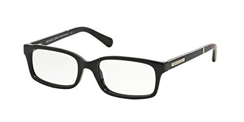 Michael Kors MEDELLIN MK8006 Eyeglass Frames 3009-52 - Black Dk