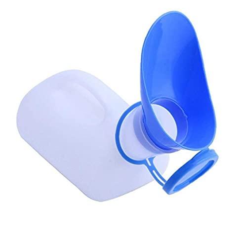 1000ml Unisex urinoir Fles met Deksel Portable Emergency Man Vrouw Pee Potty voor Hospital Travel Car Emergency