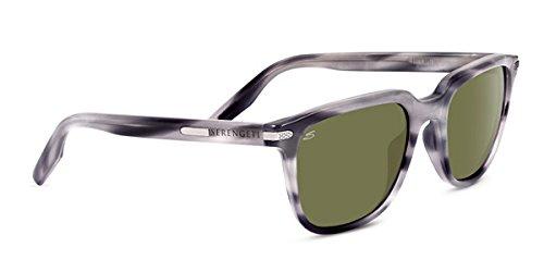 Serengeti 8475 Mattia Polarized 555NM Sunglasses, Feather Gray by Serengeti (Image #1)
