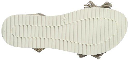 Tosca Blu Manhattan - Tira de tobillo Mujer Beige (Sabbia)