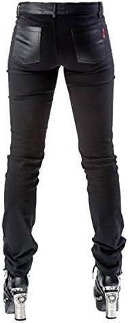 Queen of Darkness - Pantalon - Femme Noir Schwarz