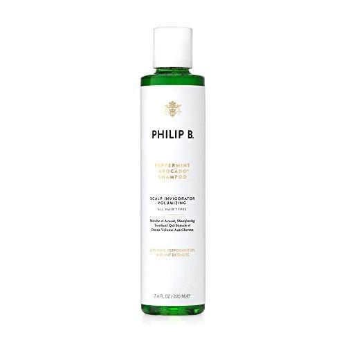 PHILIP B Volumizing and Clarifying Shampoo, Peppermint/Avocado 7.4 Fl Oz