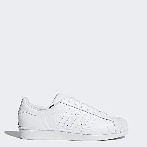 adidas Originals Men's Superstar Foundation Shoes, (Footwear White), 10.5