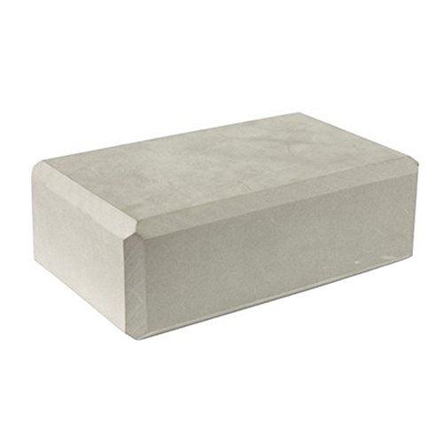 High Density Yoga Block Blocks Foam Brick Yoga Mat Accessory Sports - Gray by Kylin Express