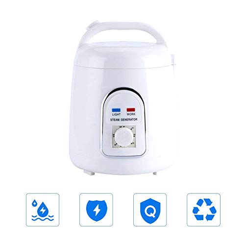 Steam Generator,1.8L Portable Steam Sauna Generator Pot Home & Commercial Steam Generator Kit,Home SPA Shower Detox, Body - Kilowatt Bath Steam Generator