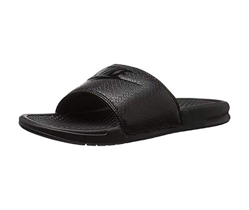 new concept 7fcab 4ee45 Galleon - NIKE Men s Benassi Just Do It Slide Sandal (11, Black Challenge  Red)