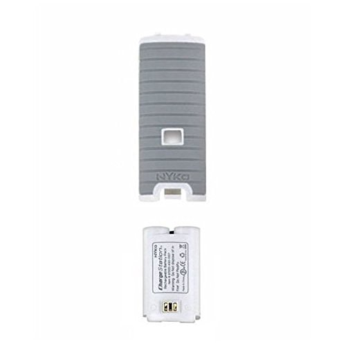 - Nyko (87017-GRY) Gray Battery Kit for Nintendo Wii Charge Station