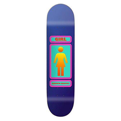 用心するガム糸Girl 93 Til Andrew Brophy 8.25インチスケートボードデッキ8.25インチMulticolour