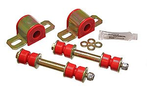 Camaro Bushings - Energy Suspension 3.5146R 1982-02 Camaro Firebird Energy Polyurethane 23mm Sway Bar Bushing & End Links Rd