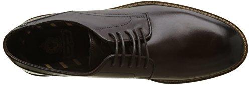 Base London barrage, Zapatos de Cordones Derby Para Hombre Marron (Brown Washed)