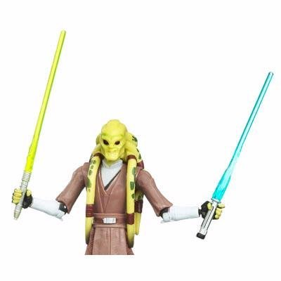 Star Wars- Clone Wars Kit Fisto-army of the Republic
