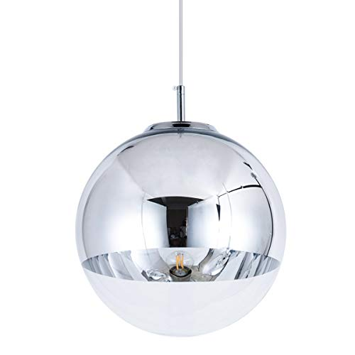 Clear Glass Ball Pendant Light