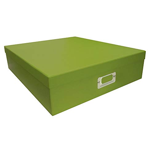 Pioneer Photo Albums Sage Green Scrapbooking Storage Box (Set of 6) from Pioneer Photo Albums
