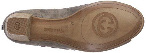 Gerry Weber Shoes Lotta 04 - Sandalias de vestir de cuero para mujer verde - Grün (khaki 633)