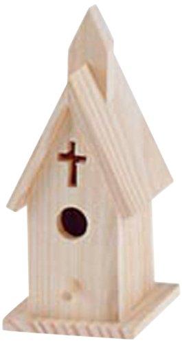 Darice 9150 01 Church House 4 Inch