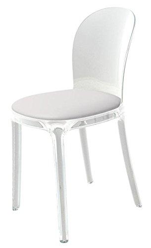 Magis Vanity Chair N 2 Sedie In Policarbonato Trasparente Con