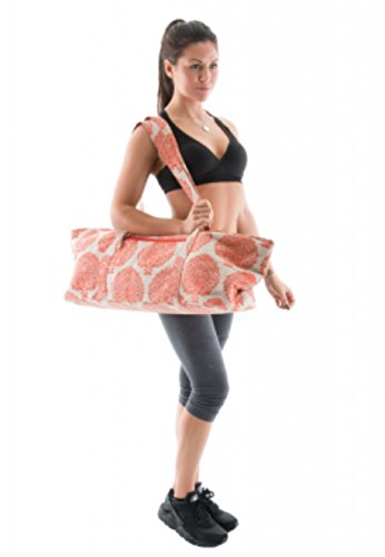 d47e35db27 DELUXE Yoga Prop   Equipment Bag (Orange)  Amazon.co.uk  Sports   Outdoors