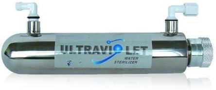 Filtro de agua UV. Esteriliza y purifica el agua: Amazon.es: Hogar