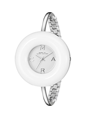 Marc by Marc Jacobs Women's MBM3396 Dinky Donut Stainless Steel Bangle Watch