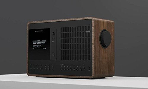 Revo SuperConnect Multi Format Deluxe Table Radio - Walnut/Black
