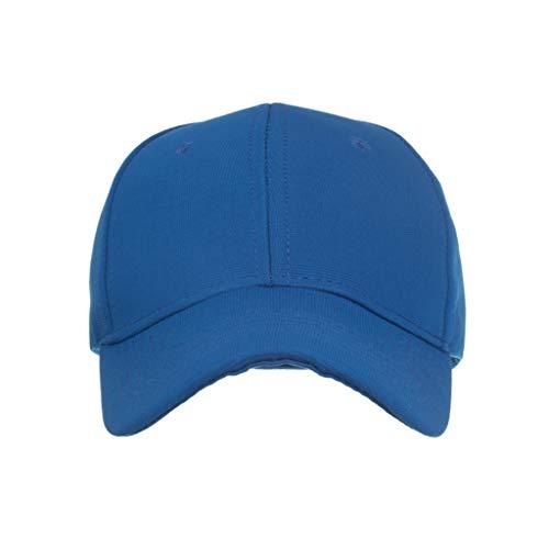 Sunday88 Baseball Caps 100% Cotton Plain Blank Adjustable Size Wholesale LOT 9 Pack Blue