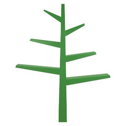 Babyletto Spruce Tree Bookcase - Green - Bookshelf - Kids'Furniture - Home Decor - Living room Decorations - It will look fantastic in your Home. ()