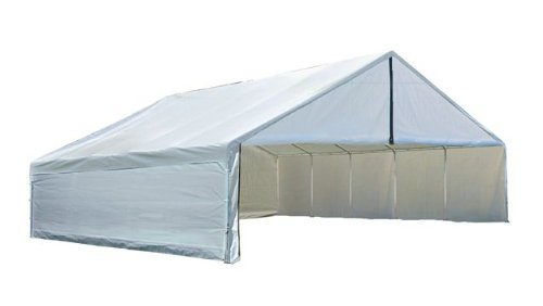 30' Enclosure Kit (ShelterLogic Ultra Max Canopy Accessories Enclosure Kit, White, 30 x 30-Feet (CANOPY FRAME AND COVER SOLD SEPARATELY))
