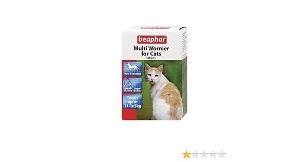12tab Beaphar Multiwormer Gato: Amazon.es: Hogar