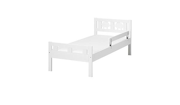 IKEA KRITTER - Estructura de cama con somier de láminas, blanco - 70x160 cm