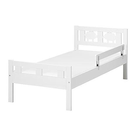 Ikea kritter Estructura de Cama con somier de 70 x 160 con protección contra caídas Madera Maciza De Pino: Amazon.es: Hogar