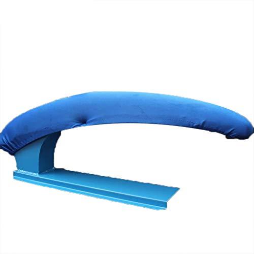 TT&CC Sleeve Ironing Board, Contour Steel top Sturdy Heat Resistant Large Blue Sponge mat Professional Steam Generator Ironing Board-A