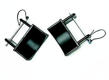 (Centaur Steel Jump Cups w- Black Pins - Black - One by)
