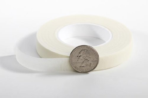 6 Rolls of White Floral Tape for Floral Arranging and Crafting-30 Yards a Roll for 180 Total Yards