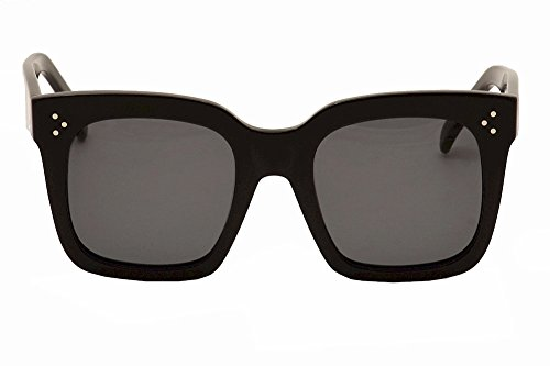 bc8bb9a8069a Celine Sunglass CL 41076/S 807 Black Frame - Import It All