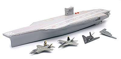 Aircraft Carrier w/ Battery Operated Lights & Sounds