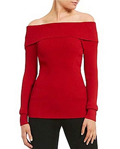 Chilling Adventures Spellman Cosplay Costumes Red Knit Oversized Sweater Hair -