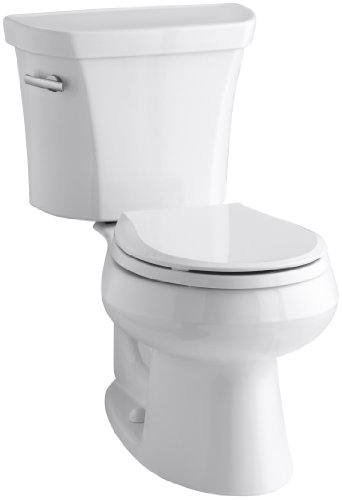 Kohler-K-3997-0-Wellworth-Round-Front-128-gpf-Toilet-White