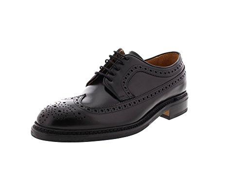 Sebago Herrenschuhe Halbschuhe Merida - Black Leather Black