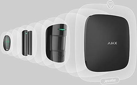Ajax StarterKit Plus Alarm, kit de alarma inalámbrico (Wi-Fi ...