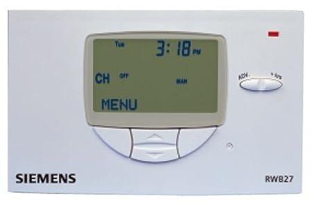 siemens rwb27 timeswitch thermostat amazon co uk diy tools rh amazon co uk siemens rwb27 user instructions siemens rwb27 user instructions